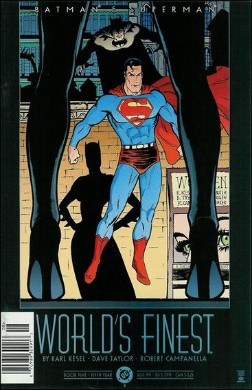 Batman and Superman: World's Finest 5-A by DC