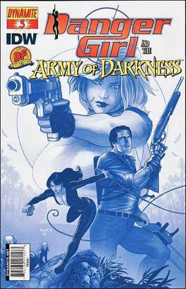 Danger Girl and the Army of Darkness 3-E by Dynamite Entertainment