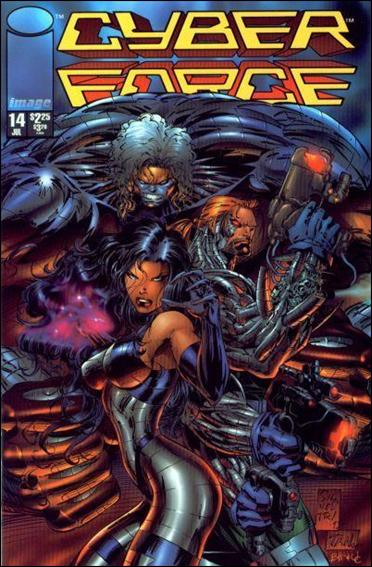 Cyberforce (1993) 14-A by Image