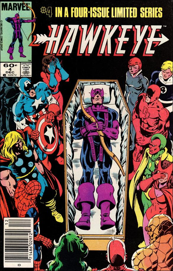 Hawkeye (1983) 4-A by Marvel