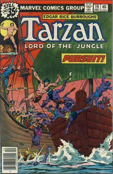 Tarzan (1977) 19-A by Marvel