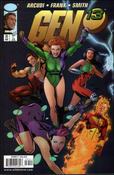 Gen13 (1995) 35-A by WildStorm