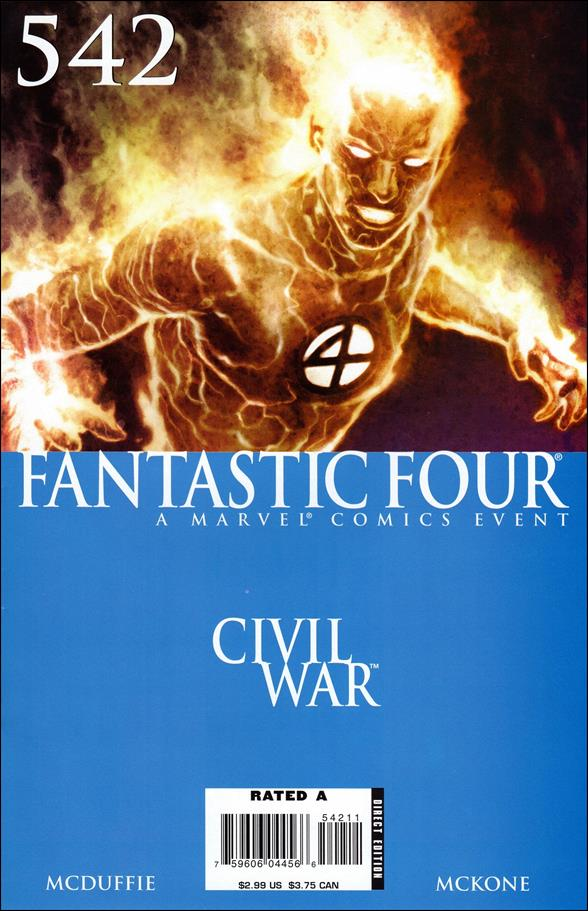 Fantastic Four (1961) 542-A by Marvel