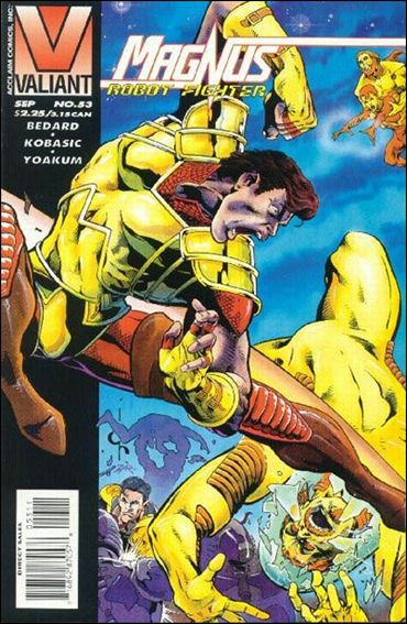 Magnus Robot Fighter (1991) 53-A by Valiant