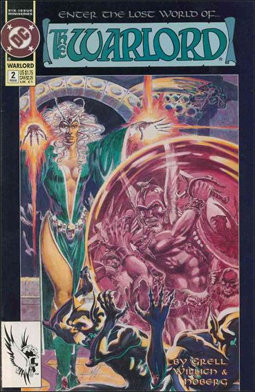Warlord (1992) 2-A by DC