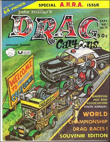 Drag Cartoons (1963) 19-A by Millar