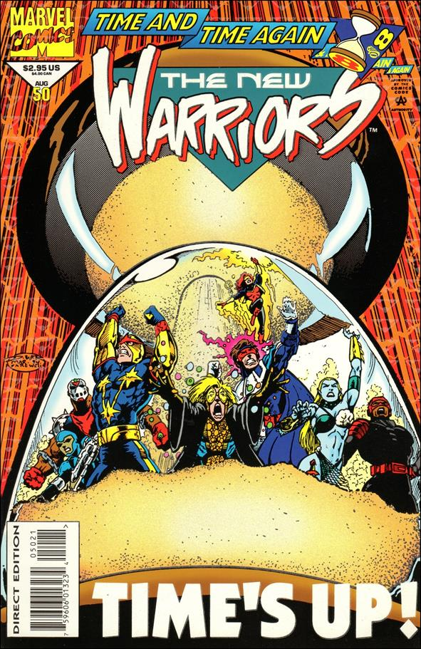 New Warriors (1990) 50-A by Marvel