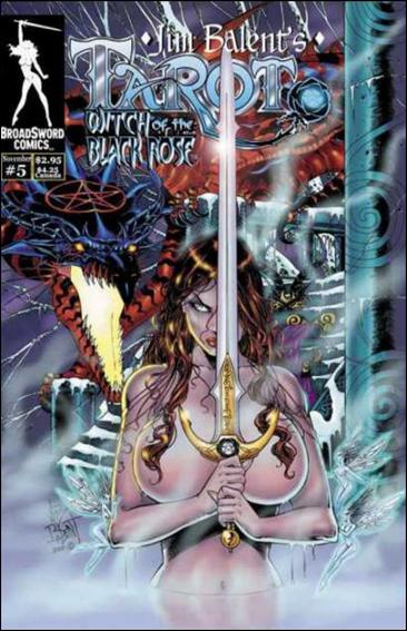 Tarot: Witch of the Black Rose 5-A by BroadSword Comics