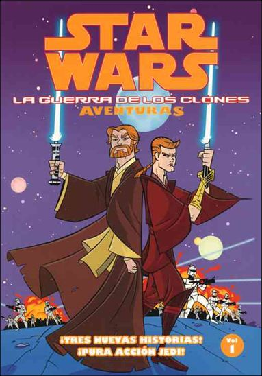 Star Wars: Aventuras De La Guerra De Los Clones 1-A by Dark Horse