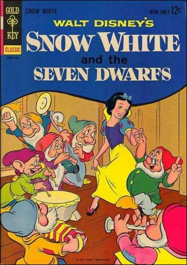 Walt Disney's Snow White and the Seven Dwarfs 1-A by Gold Key