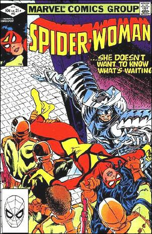 Spider-Woman (1978) 43-A by Marvel