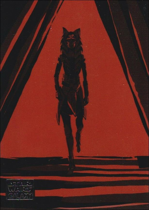 Star Wars Galaxy 2018 (Journey of Ahsoka Subset) 1 of 10-A by Topps