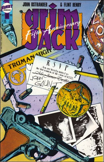 Grimjack 60-A by First