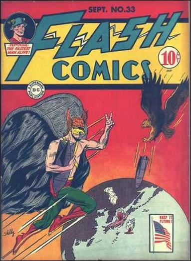 Flash Comics (1939) 33-A by DC