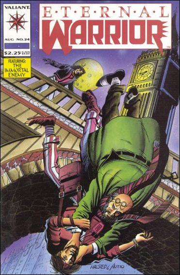 Eternal Warrior (1992) 24-A by Valiant