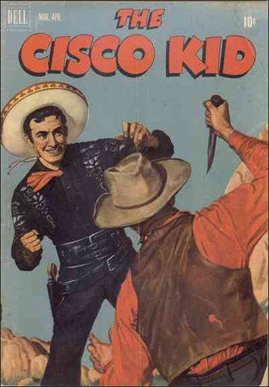 Cisco Kid (1951) 8-A by Dell