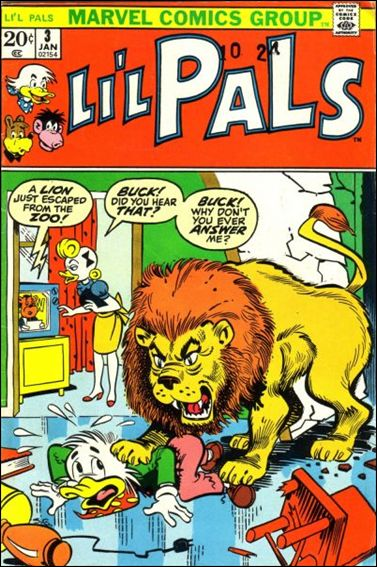 Li'l Pals 3-A by Marvel