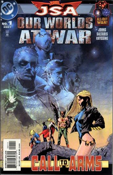 JSA: Our Worlds at War 1-A by DC