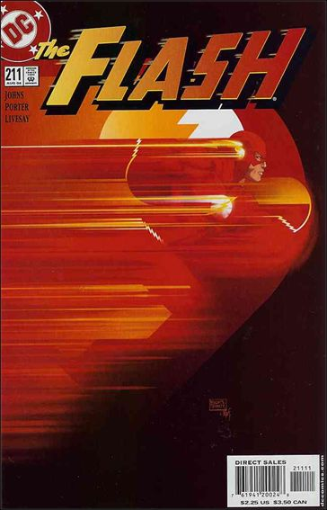 Flash (1987) 211-A by DC