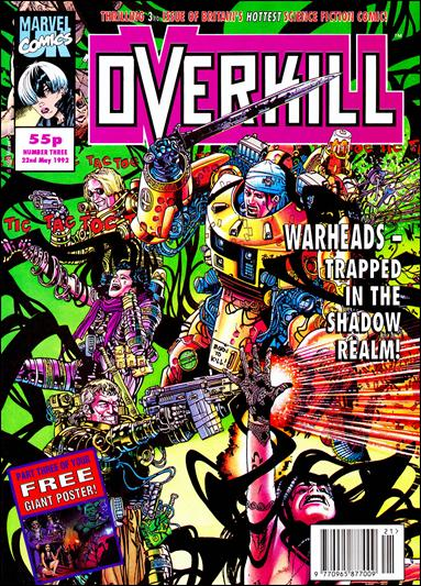 Overkill (UK) 3-A by Marvel UK