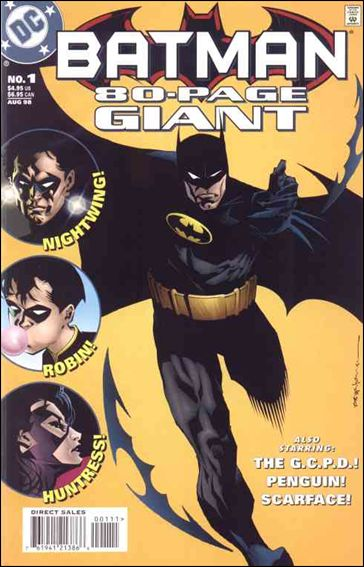 Batman 80-Page Giant (1998) 1-A by DC