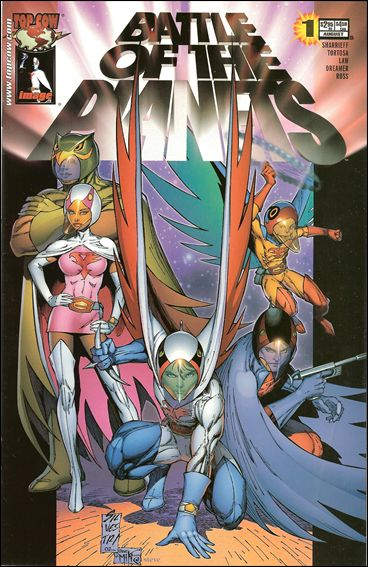 Battle of the Planets (2002) 1-B by Top Cow