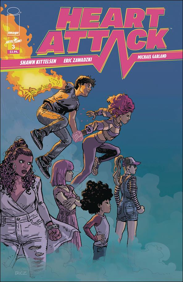 Heart Attack 3-A by Skybound Entertainment