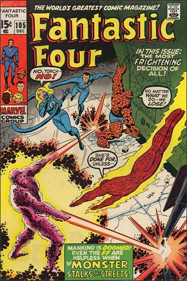 Fantastic Four (1961) 105-A by Marvel