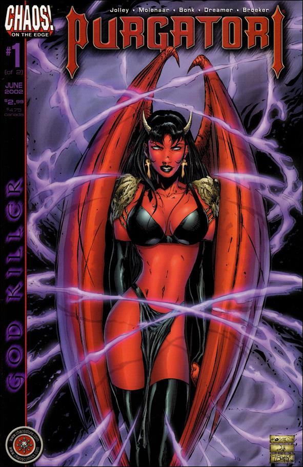 Purgatori: God Killer 1-A by Chaos! Comics