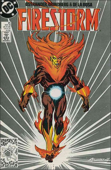 Firestorm The Nuclear Man (1987) 85-A by DC