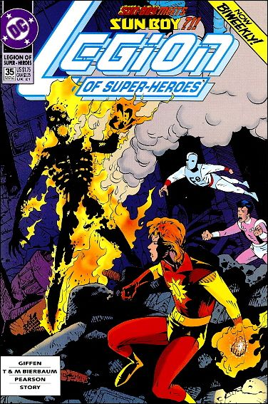 Legion of Super-Heroes (1989) 35-A by DC
