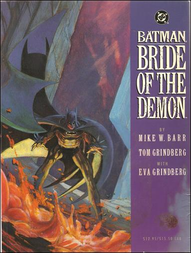 Batman: Bride of the Demon 1-A by DC