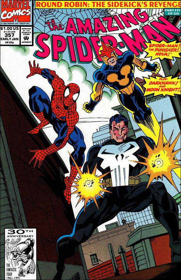 Amazing Spider-Man (1963) 357-A by Marvel