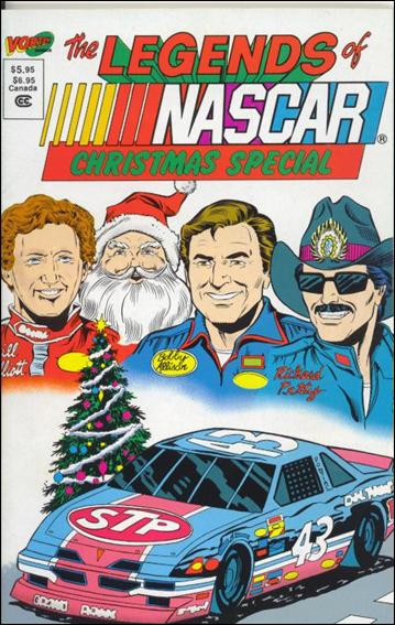 Legends of Nascar Christmas Special  NN-A by Vortex Comics