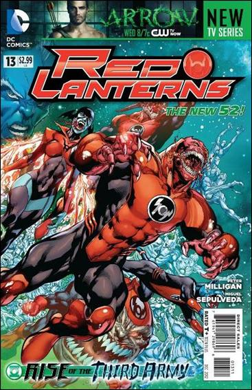 Red Lanterns 13-A by DC