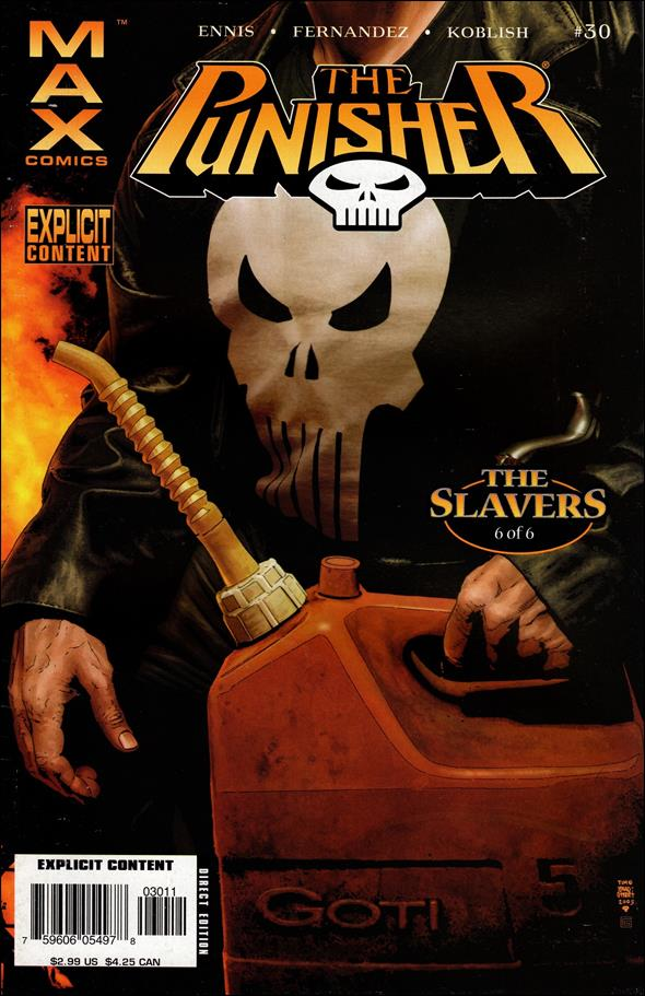 Punisher (2004) 30-A by Max