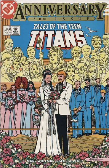 Tales of the Teen Titans 50-A by DC