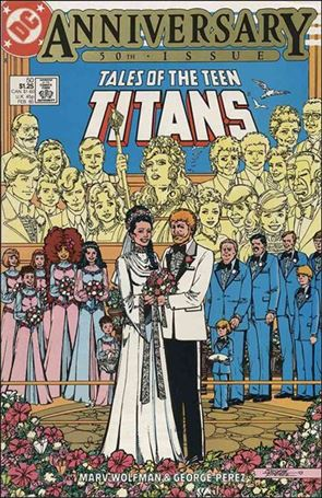 Tales of the Teen Titans 50-A