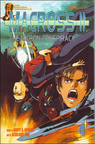 Macross II: The Micron Conspiracy 4-A by Viz