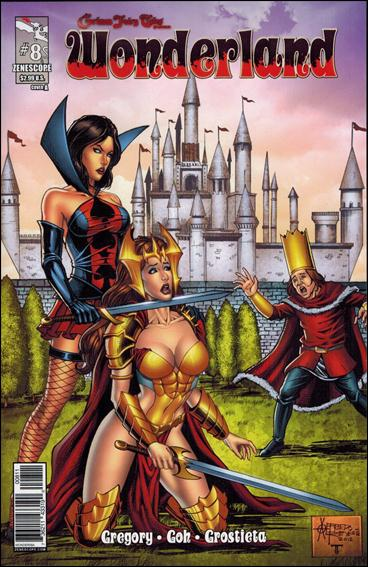 Grimm Fairy Tales Presents: Wonderland 8-A by Zenescope Entertainment