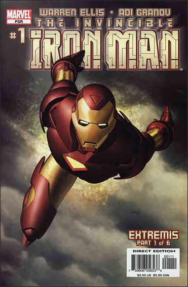 Invincible Iron Man (2005) 1-A by Marvel