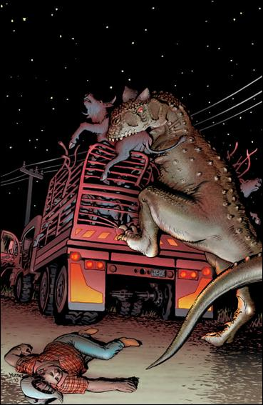 Jurassic Park (2010) 1-C by IDW