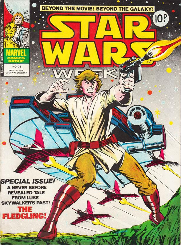 Star Wars Weekly (UK) 33-A by Marvel UK