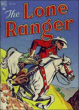 Lone Ranger (1948) 4-A by Dell