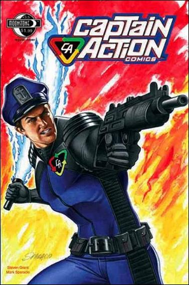 Captain Action Comics 3.5-A by Moonstone