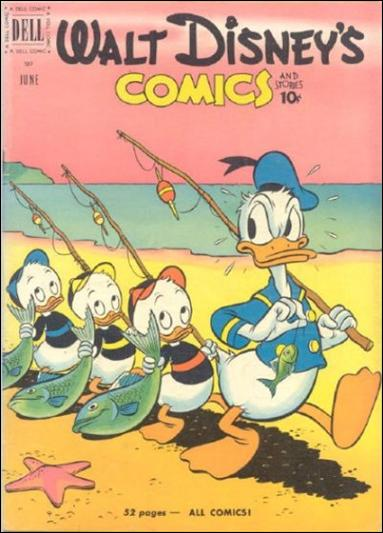 Walt Disney's Comics and Stories (1940) 129-A by Dell