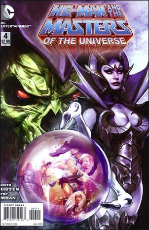 He-Man and the Masters of the Universe (2012) 4-A by DC