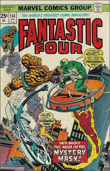 Fantastic Four (1961) 154-A by Marvel