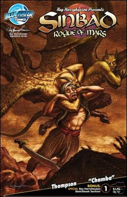 Sinbad: Rogue of Mars 1-C by Bluewater Comics