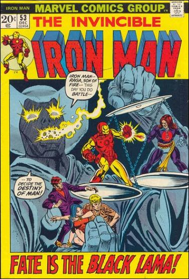 Iron Man (1968) 53-A by Marvel